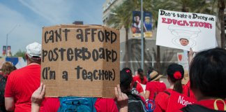 #redfored teacher pay