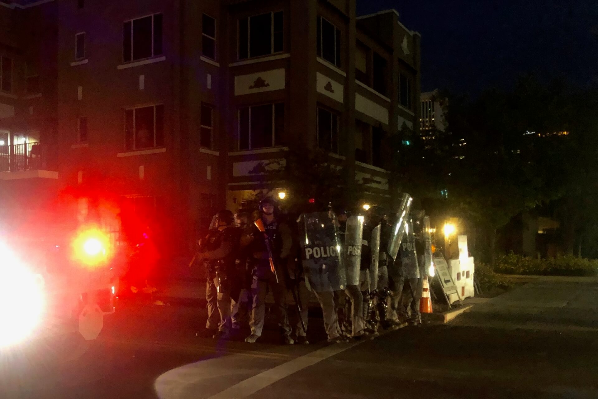 riot gear police george floyd protest